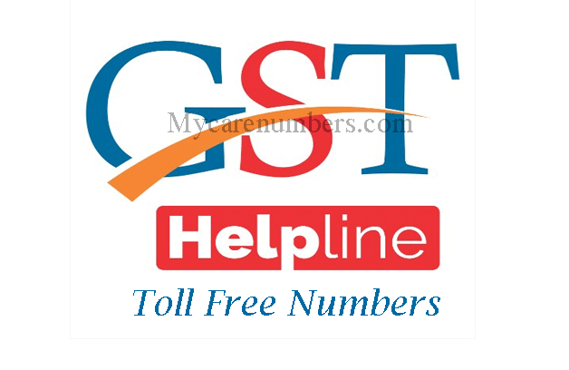 Gst helpline number