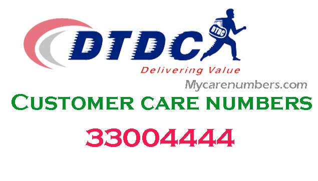 dtdc customer care number