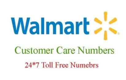 Walmart Customer Service Hours / 24×7 Toll Free Numbers