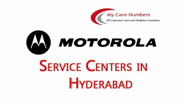 Motorola Service Center in Hyderabad