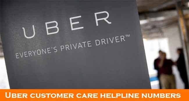 Uber Customer Care Chennai