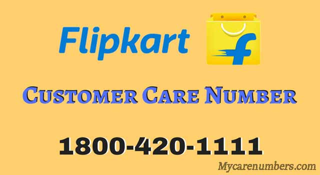 flipkart customer care number