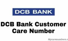 DCB Bank Customer Care
