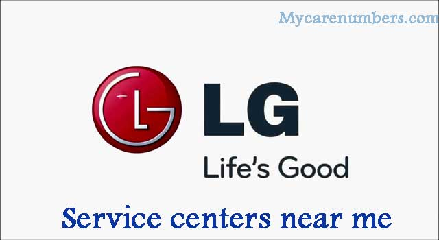 LG Service Center near Me